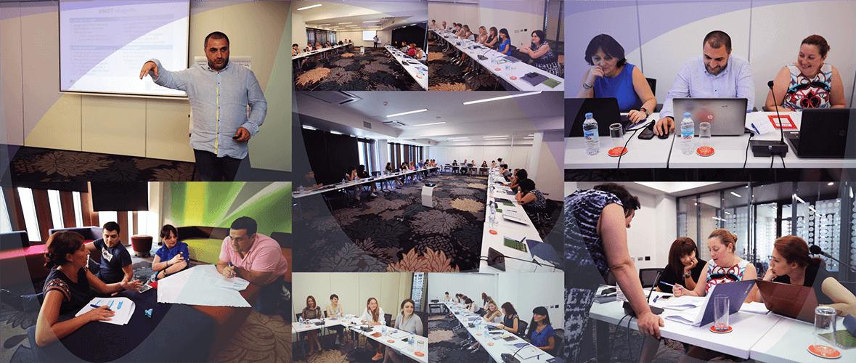 NSDI საკომუნიკაციო სტრატეგიის შემუშავების პროექტის სამუშაო შეხვედრა ყვარელში