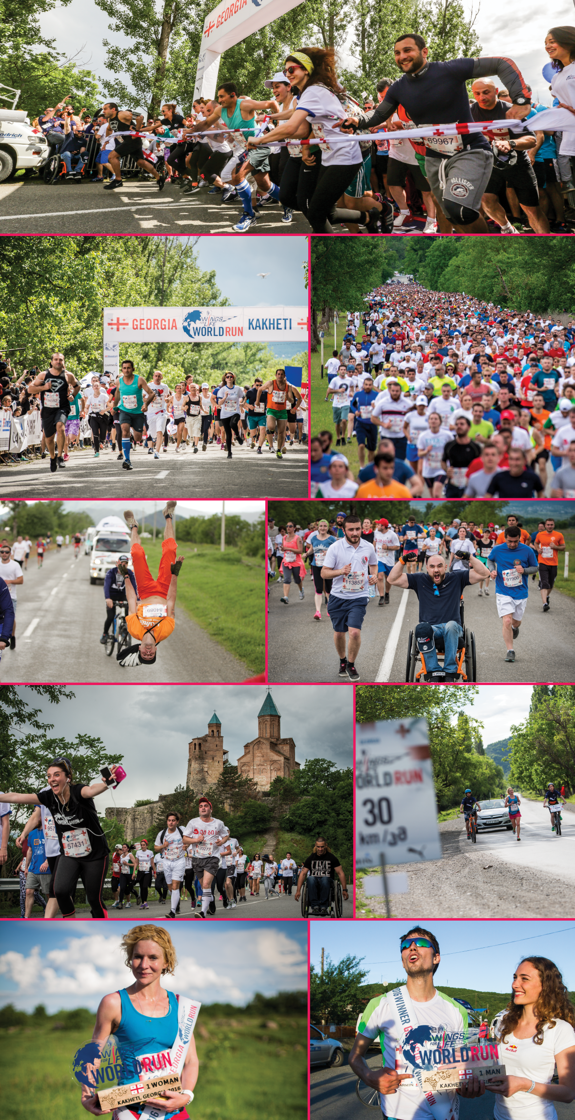 Wings For Life World Run 2016 და მისი გამარჯვებულები